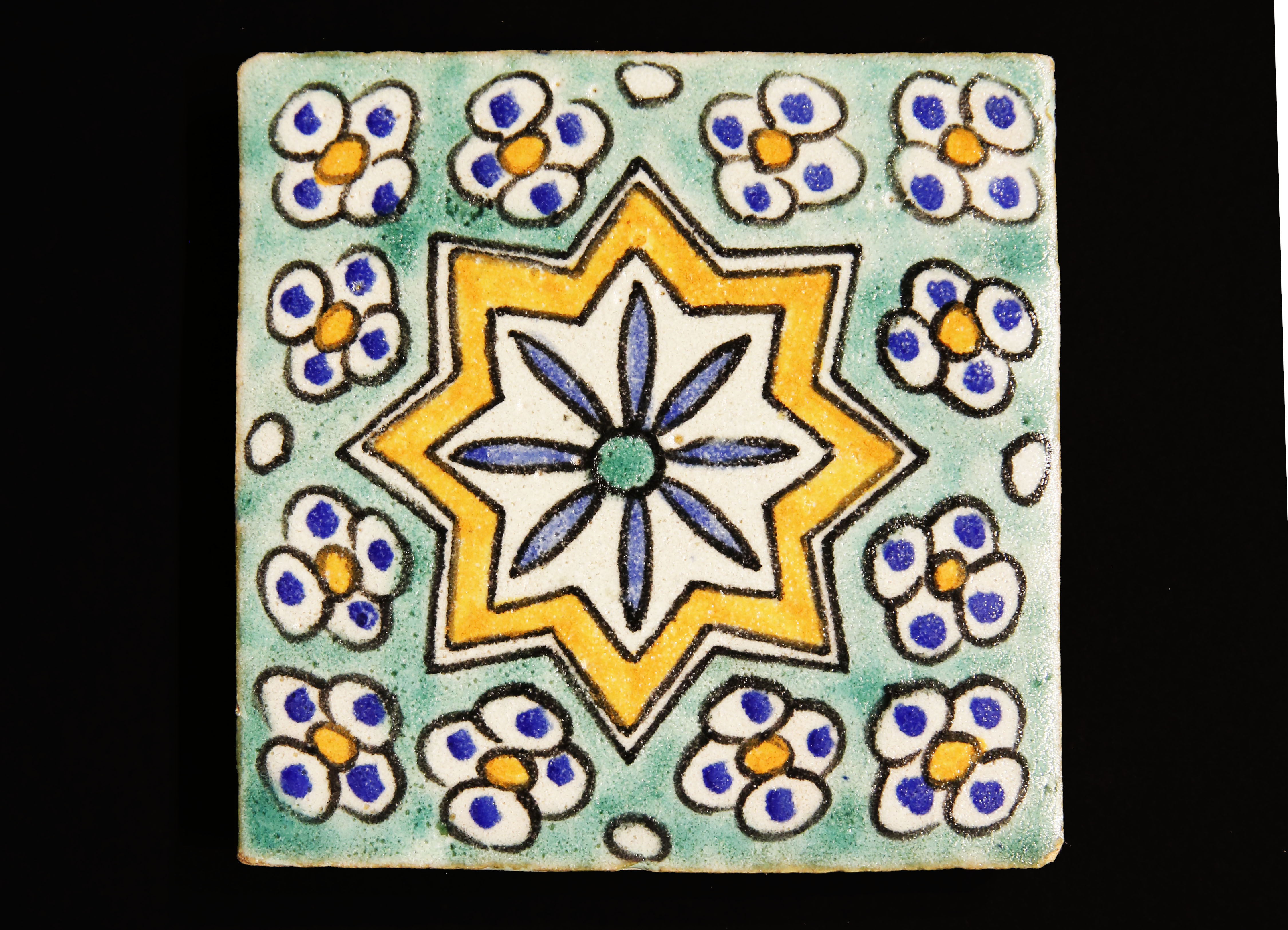 sell hand-painted tiles, hand-painted ceramics, tadelakt, handcrafted, customized panels