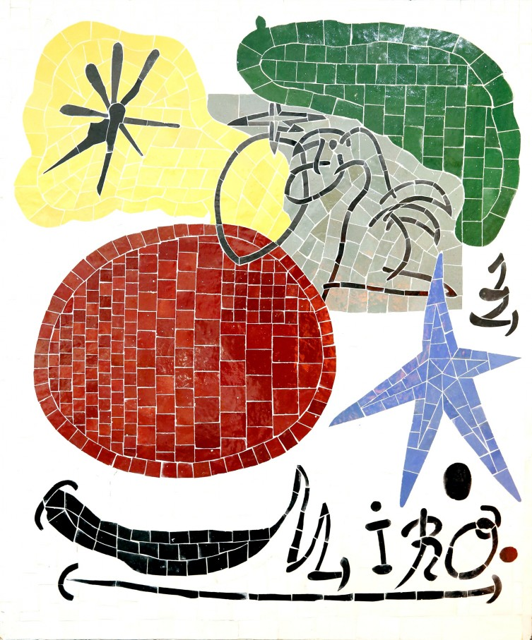 pannelli mosaico piastrelle dipinte a mano
